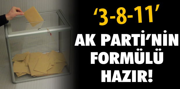 AK Parti'nin forml hazr!