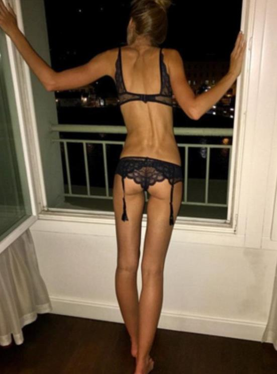 Skinny blonde wife shared for first time 5